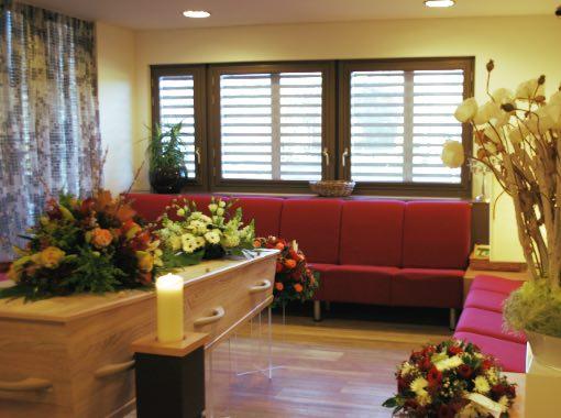 crematorium zoetermeer familiekamer met kist