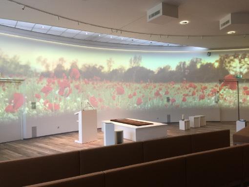 aula crematorium zoetermeer thema natuur