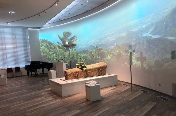 aula crematorium meerbloemhof thema landschap